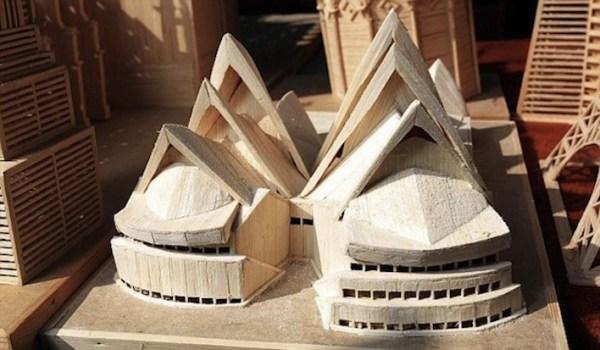 20 Stunning Matchstick Creations Sydney Opera House