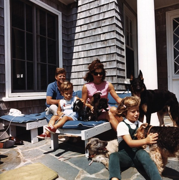 Presidential dogs: President John F. Kennedy and his Family Dogs