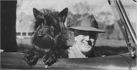 Presidential dogs: Roosevelt and Fala