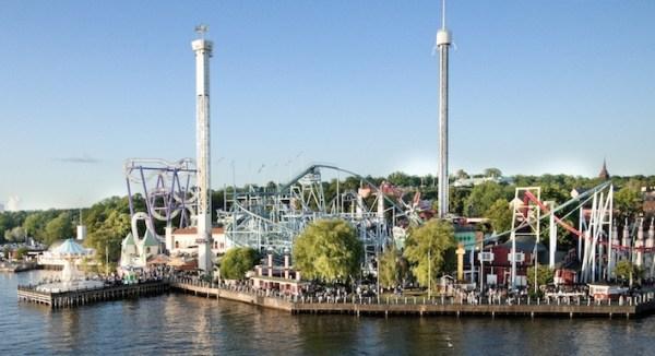 Grona Lund Amusement Park Sweden