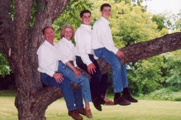 Awkward Family Sitting in Tree