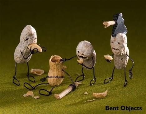Peanut Zombies Bent Objects