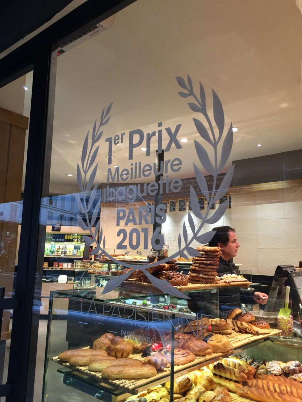 La Parisienne - Melhor Baguete de Paris 2016
