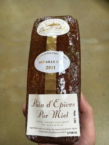 Pain d'épices - Borgonha