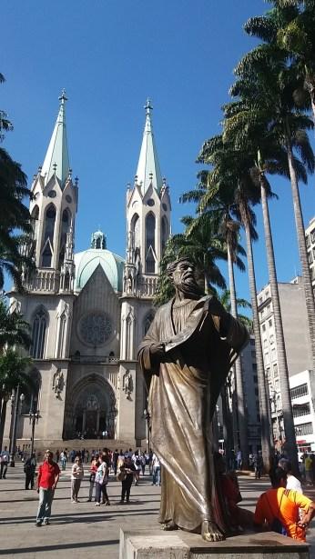 Praça da Sé_Foto: San Palheta