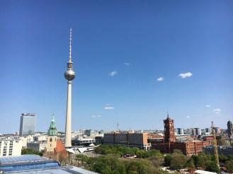 Vista da cúpula da Catedral de Berlim