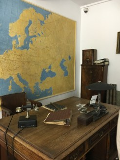 Museu na antiga fábrica de Oskar Schindler - antigo escritório dele