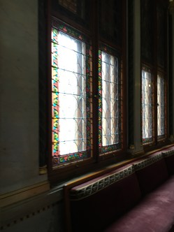 Interior do Parlamento de Budapeste