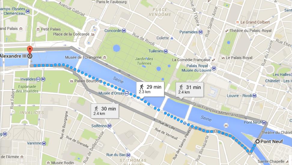 mapa pontes