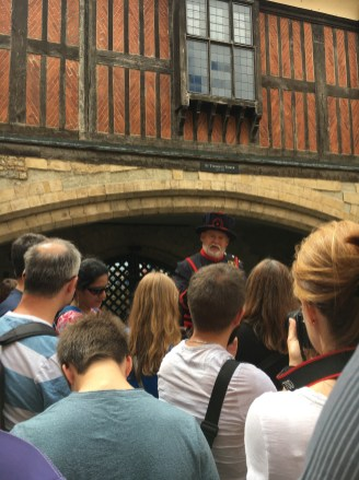 Visita guiada com o Yeoman Warder