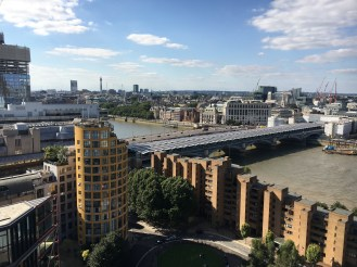 Vista do terraço do Tate Modern