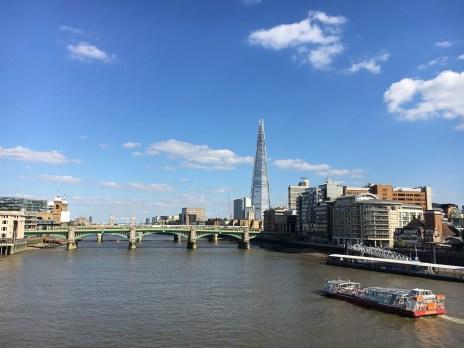 Vista da Millenium Bridge