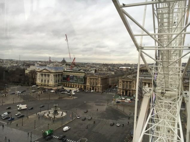Vista da Roda Gigante - Paris