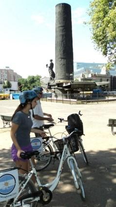 De bike em Buenos Aires