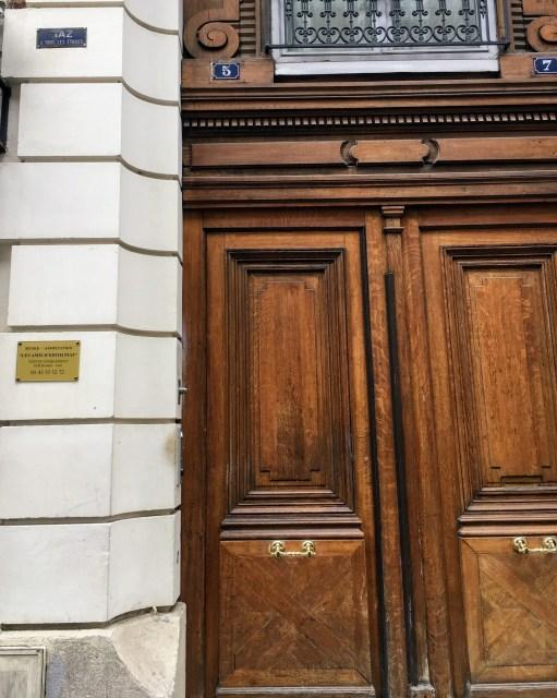 Fachada Prédio onde fica o antigo apto de Edith Piaf