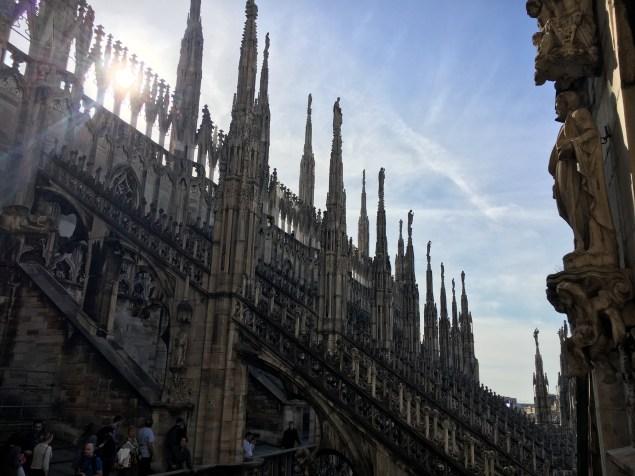 Terraço Duomo de Milão