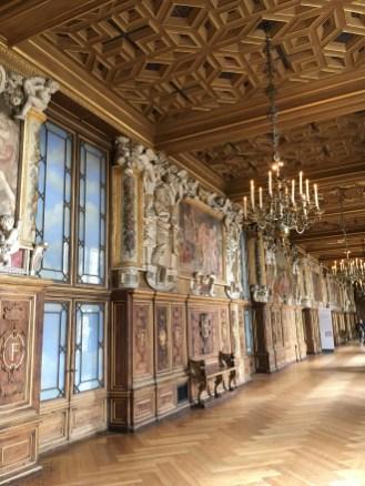 Galeria François I - sala de baile