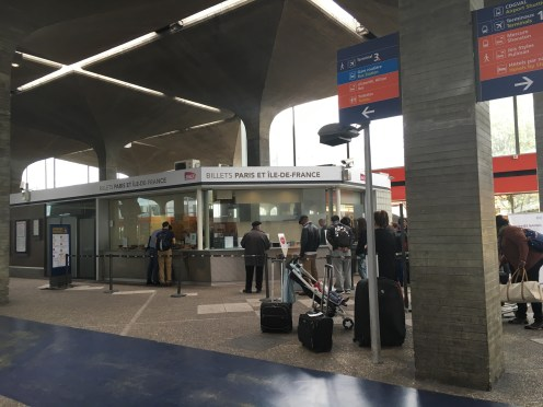 Guichê de atendimento SNCF