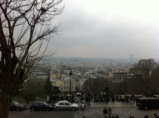 Vista da Basílica da Sacré Coeur