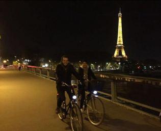 Passeio noturno de bike - Foto: Juliano Frassetto