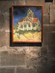 Interior da Igreja de Auvers-sur-Oise