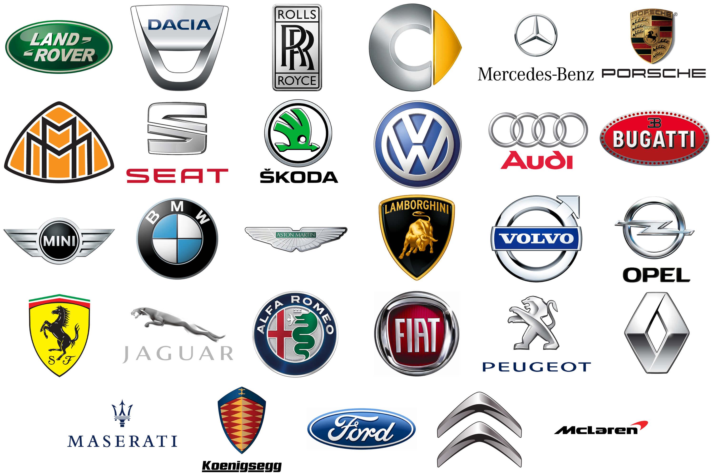 Car Manufacturers Names Italian Car Brands Companies And