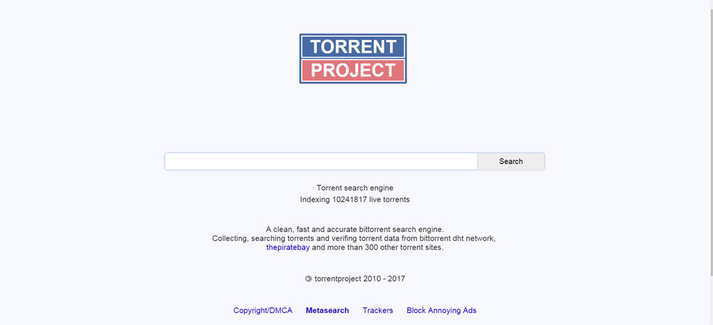 TorrentProject-Torrent-Search-Engine