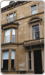 listed window refurbishment Edinburgh