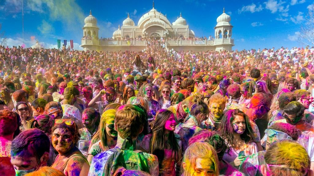 Holi Festivali (Hindistan)