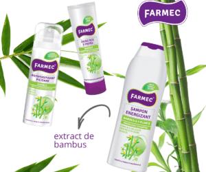 Farmec cu ajutorul produselor realizate din ingrediente naturale!