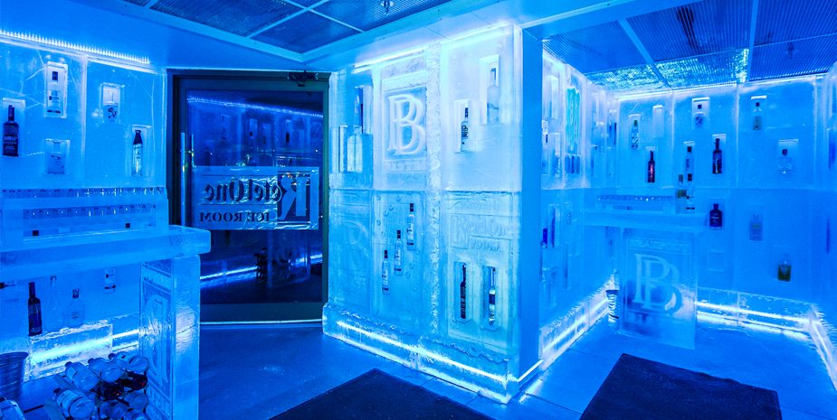 Bearfoot Bistro Ice Room  The Listel Hotel Whistler