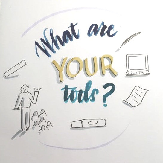 What are your tools? drawing