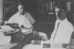 James Norman Hall and his writing partner James Nordoff
