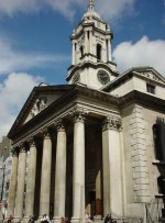 Saint George Church on Hanover Square,London England