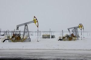 Soviet oil wells