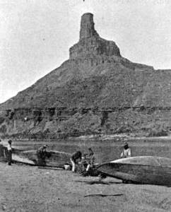 Powell Colorado Expedition at Gunnison Butte