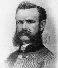 John Wesley Powell the first person to expore the Colorado river from the Green river on the North to the Grand Canyon on the south