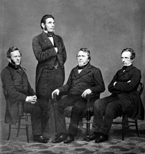 "The 4 Harper Brothers, Publishers of the American version of ""Moby Dick"""