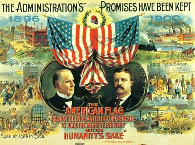 McKinley-Roosevelt campaign poster 1900