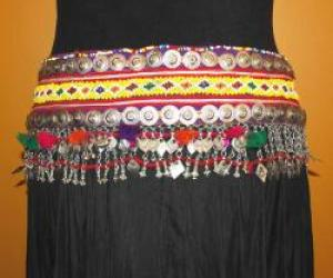 Afghan Kuch- belly dane belt - SEK 710