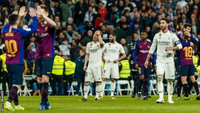 """Real Madrid manager Zinedine Zidane says they """"have to believe"""" Wednesday's El Clasico against fierce rivals Barcelona will go ahead."""