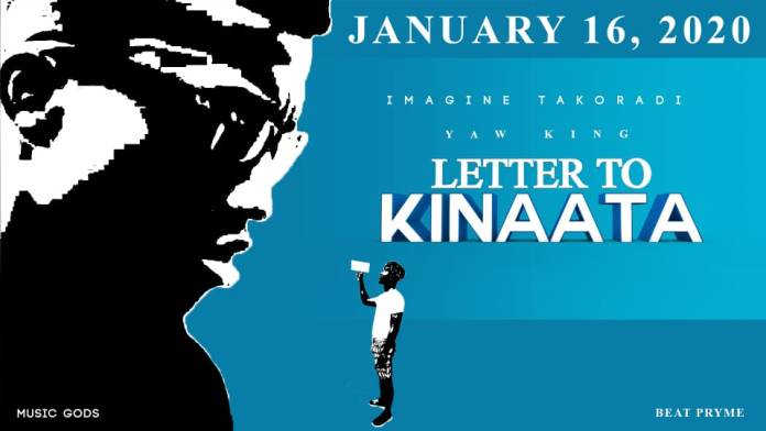 ListenGH Official Cover for letter to Kinaata