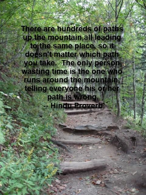 Hindu Proverb Appalachian Trial 2