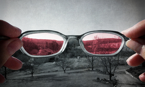 Taking the Rose Colored Glasses Off