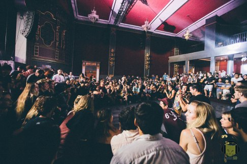Dan Deacon Dance Crowd
