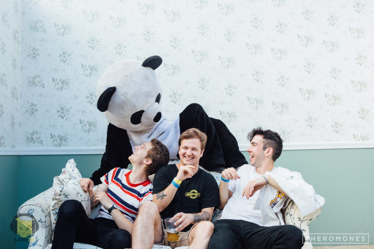 The Frights & ListenSD Panda by Summer Luu