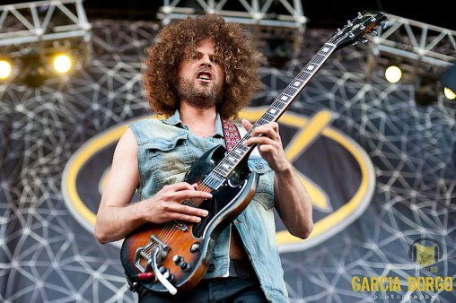 Andrew Stockdale of Wolfmother