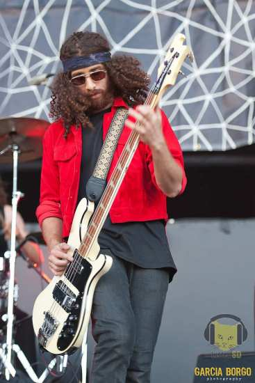 Ian Peres of Wolfmother