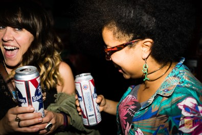 Partying with Pabst - Photo by: Jay Reilly