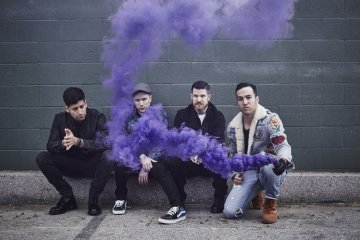 Fall Out Boy (photo credit: Pamela Littky)